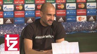 "FC Bayern vs. FC Porto - Pep Guardiola: ""Ich bin hundert Prozent optimistisch"""
