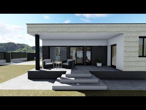 Instalaci n casa prefabricada cube de 100 m2 con cubier - Hormipresa opiniones ...