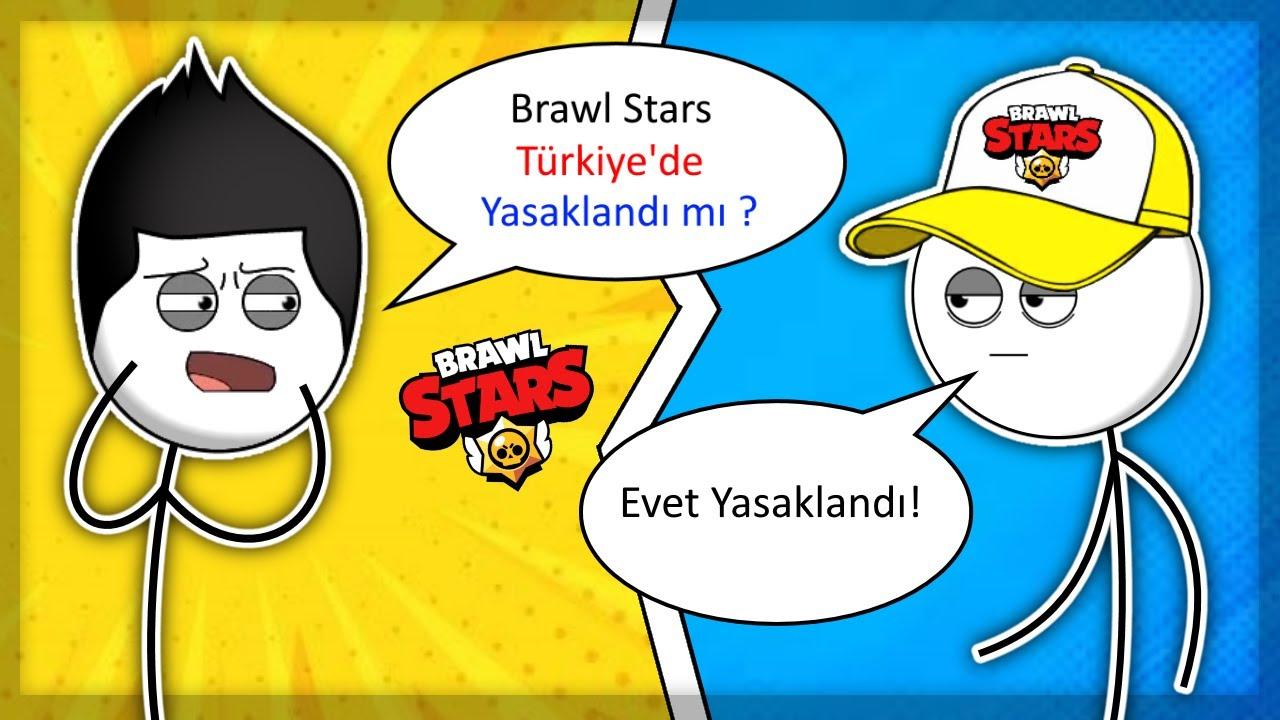 Brawl Stars'ın Türkiye'de Yasaklanması Ne Hissettirir? 😱 | ANİMASYON