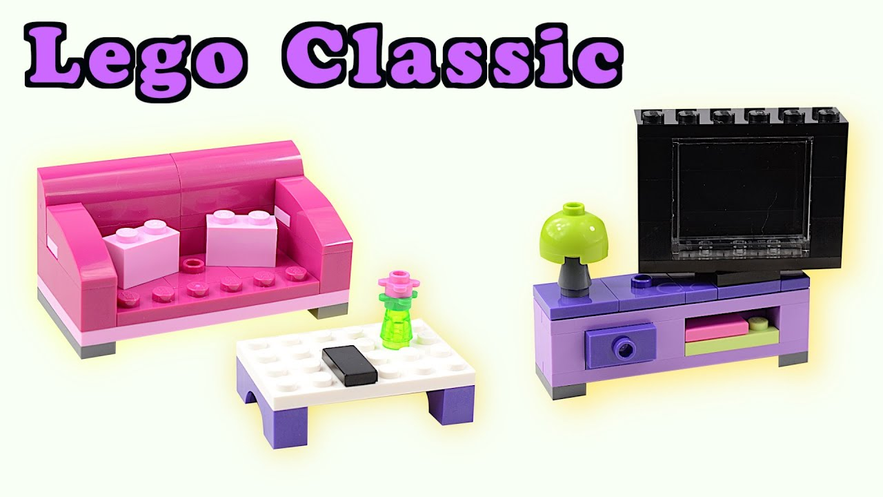 How to build lego classic living room lego stop