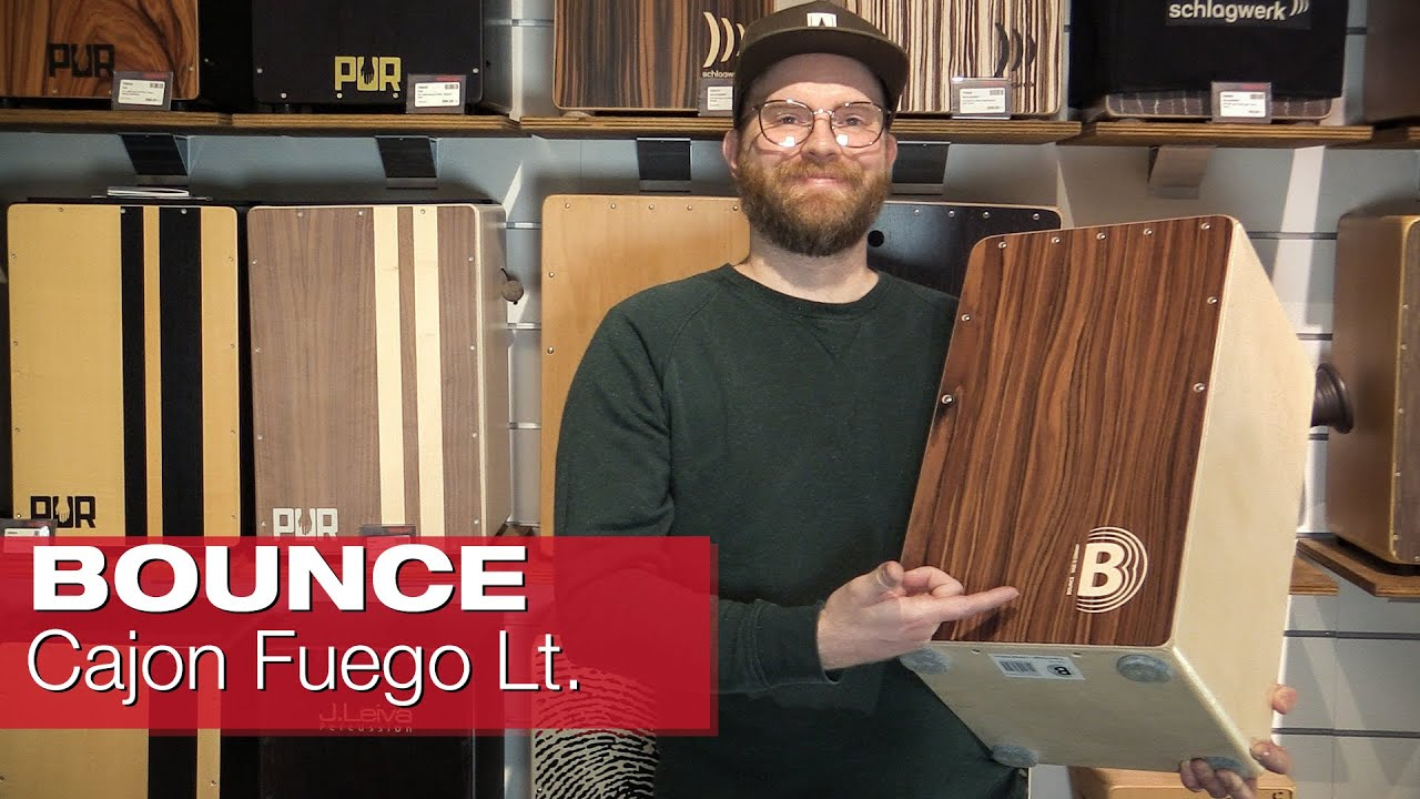 BOUNCE Cajon Fuego - Limited Edition -