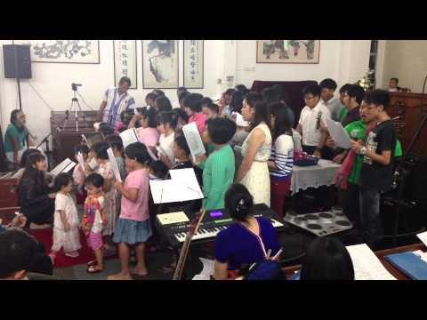 KBCS' Sunday school Kids