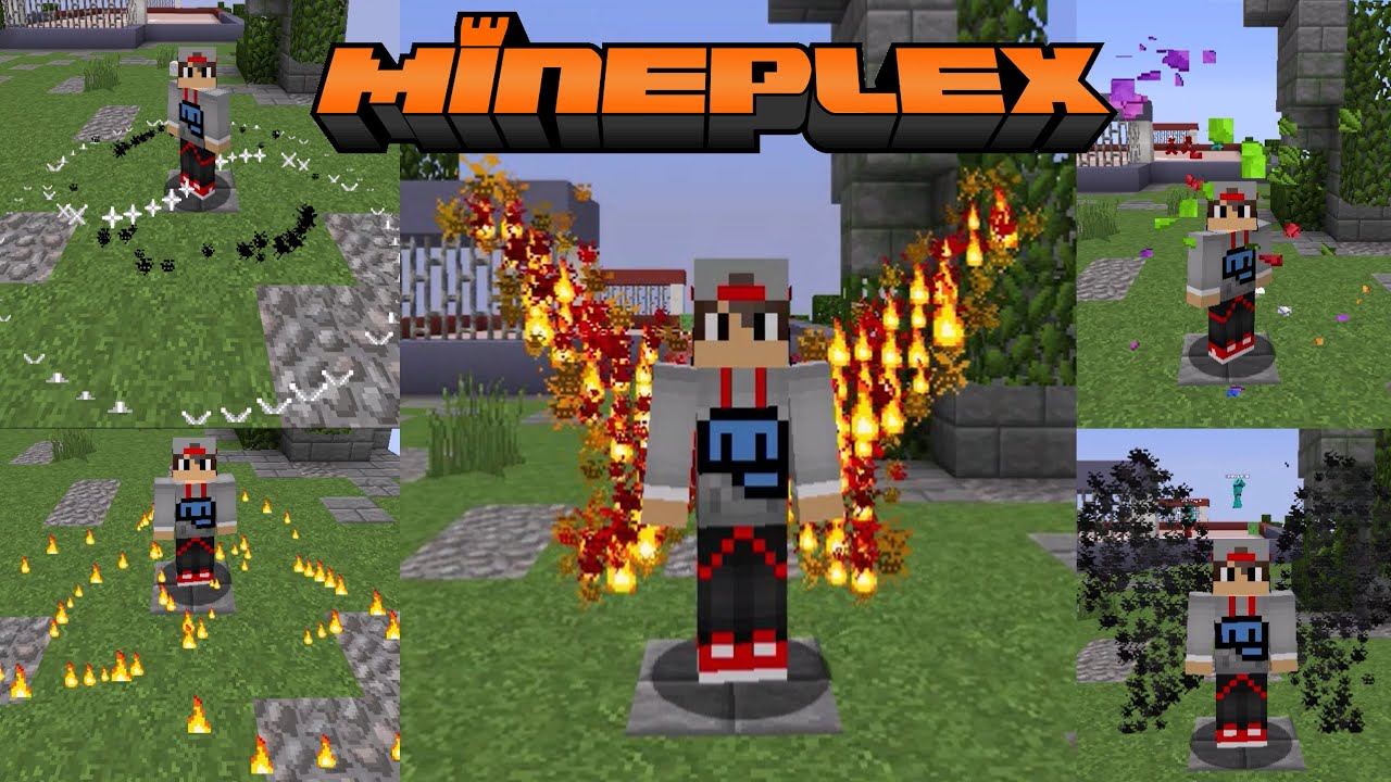 All Mineplex Particle Effects!!! (as of 24th June, 2016)