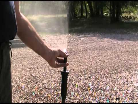 How to Adjust Rainbird 1804 Spray Sprinkler Head, Nozzles