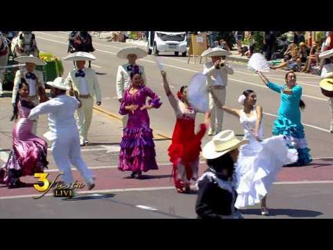 El Desfile Historico (Historic Parade) Fiesta 2016 Santa Barbara