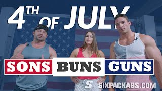 4th of July  ?? Dumbbell & Resistant Band Workout | Bonus EAA Popsicle Recipe