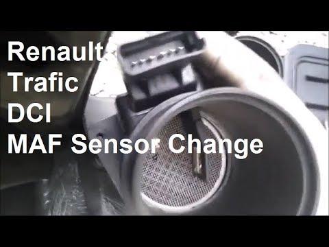 Renault Trafic DCI 2006 MAF Sensor Change - Vivaro and Primastar
