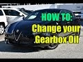 How To: Manual Gearbox Oil Change (Alfa Romeo Giulietta QV)