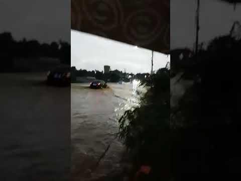 Chuva forte em Palmeira dos índios-al