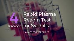Rapid Plasma Reagin Test for Syphilis