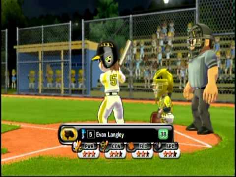 Little League® World Series Baseball 2009 (Nintendo Wii) - Tounament Mode - Game 1 - Part 1
