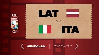 Highlights: LATVIA vs ITALY | 2021 #IIHFWorlds