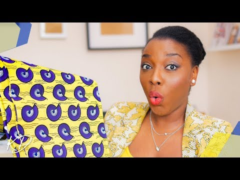 CAN YOU TELL NEW FABRICS GET ME HYPED? ANKARA, JERSEY & MORE | KIM DAVE