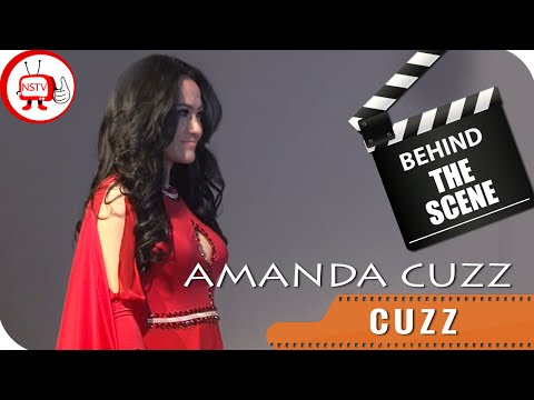Amanda Cuzz - Behind The Scenes Video Klip Cuzz - NSTV