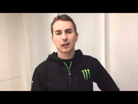 Jorge Lorenzo's message to his fans
