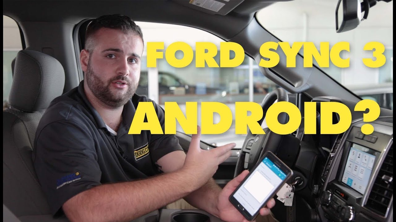 Setup Ford Sync3 Android Auto / Bluetooth | 2018 Ford F-150