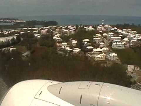 EXCLUSIVE!!! WestJet's First Landing in Bermuda