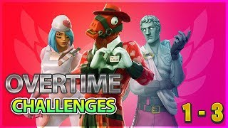 Fortnite Overtime Challenges Guide - Challenges 1 - 3 Free Season 8 Battle pass