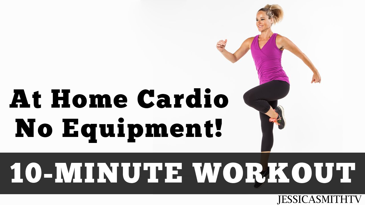 Circuit Training Exercises No Equipment The Best 10 Minute At Home Cardio Workout Youtube