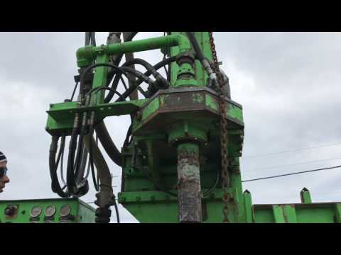 Deep Rock Dr150 Drill Rig Demo Run