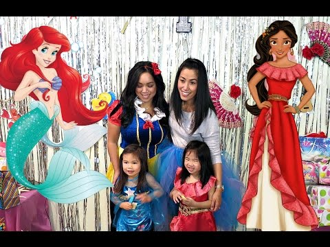 DISNEY PRINCESS BIRTHDAY PARTY!! - October 29, 2016- ItsJudysLife Vlogs