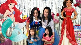 DISNEY PRINCESS BIRTHDAY PARTY!! - October 29, 2016- ItsJudysLife Vlogs