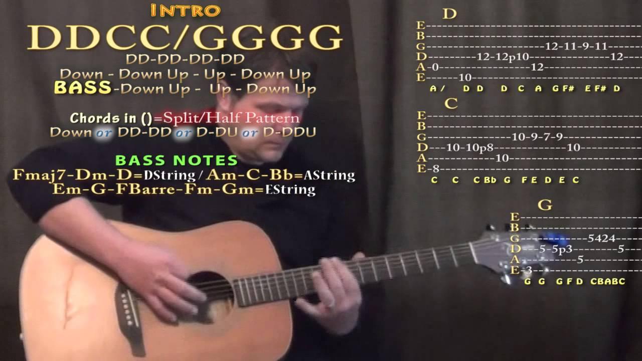 I Feel Fine The Beatles Guitar Lesson Chord Chart Youtube