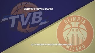 HIGHLIGHTS/ De'Longhi Treviso - AX Armani Exchange Milano 53-75