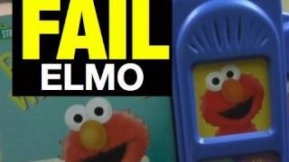 FAIL Elmo Toy OMG  Epic Funny FAIL Toy Review Video by Mike Mozart of JeepersMedia on YouTube