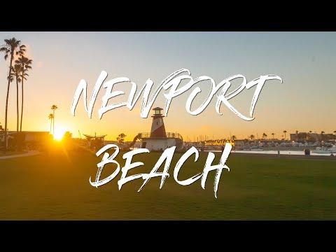 Newport Beach Video Like You've Never Seen Before!