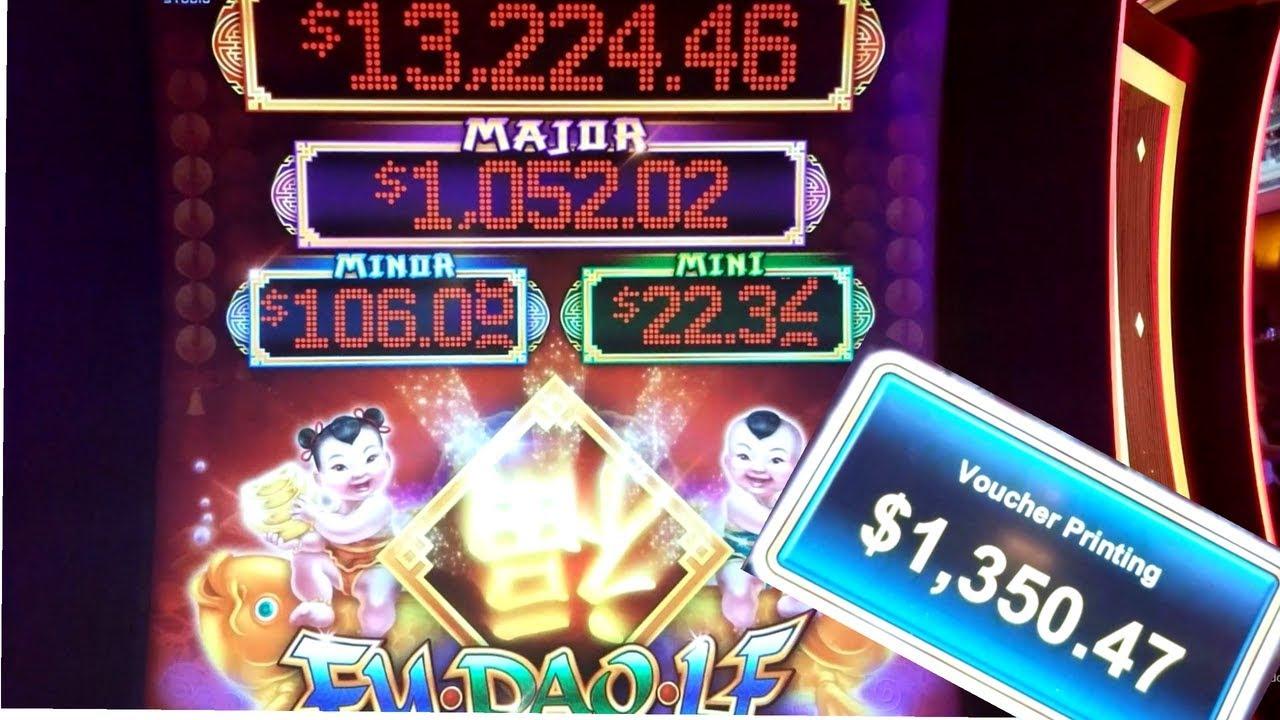 ★big Win★ Fu Dao Le Slot Machine Bonus Win Live Slot