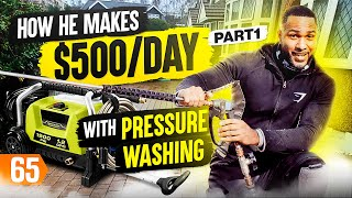 Pressure Washing Business Makes $500/Day (Find Out How) Pt. 1