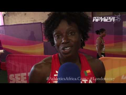 The first objective is the Final, then medals - Noelie Yarigo ( Benin Republic) - London 2017