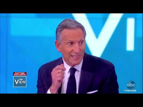 Howard Schultz on why he wouldn't run as a Democrat for president | The View