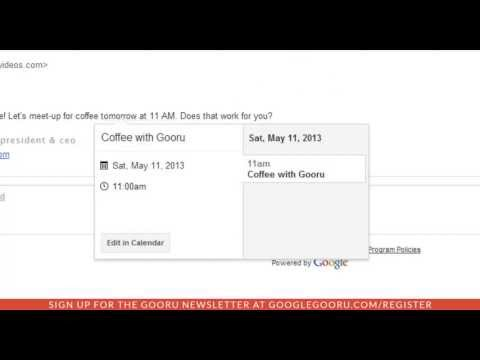 Gmail update for easy Calendar Access