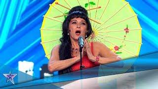 ¿Estamos ante la nueva MARIA CALLAS? ¡Menuda VOZ! | Audiciones 10 | Got Talent España 5 (2019)