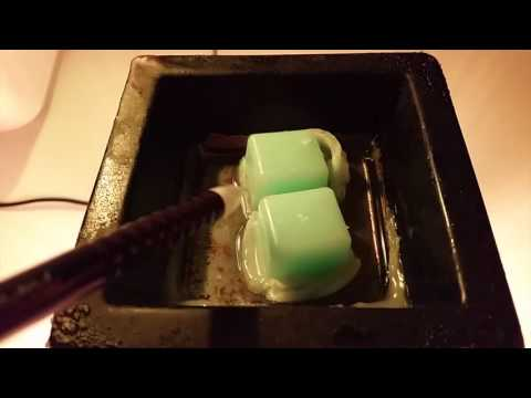 ASMR: Whispering - College Talk, Melting Wax, Antique Toys