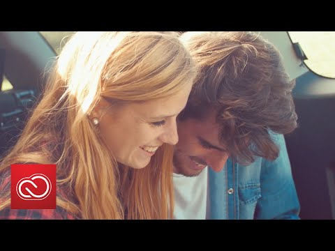 Adobe Stock 4K Video: Young Couple On Road Trip  | Adobe Creative Cloud