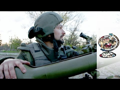 Rare Access To Both Sides Of Ukraine's Front Line