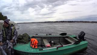 suzuki 9.9 / Обкатка човнового мотора.