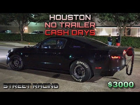 RACING for some cash in TEXAS!!! - Turbo Mustang, Boosted Fox Body, Nitrous Buggy, & MORE!