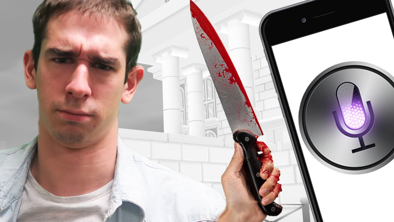 COMMENT TUER QUELQU'UN AVEC SIRI? - Kill The Bad Guy - YouTube