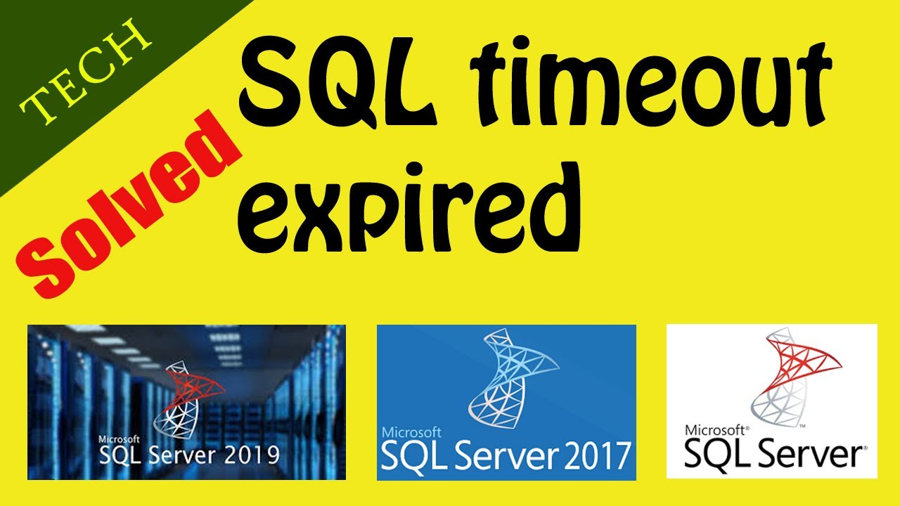 SQL timeout expired  The timeout period elapsed prior to completion of the  operation