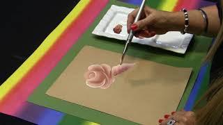 Pintura decorativa en bolso - Por Estela Noguera - LOOK