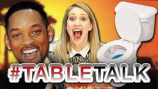 #ToiletTime on #TableTalk!