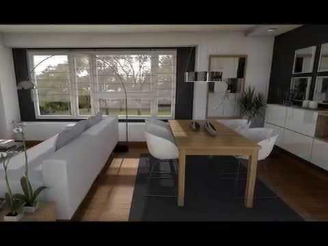 Diseño interior: Distribución salón cuadrado/rectangular - YouTube