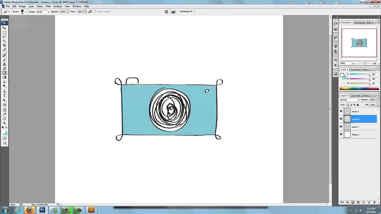 how to make logos in photshop