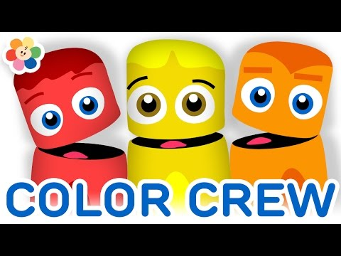 Color Collection 10: Red, Yellow, Orange | Color Learning Videos for Kids | Color Crew | BabyFirst