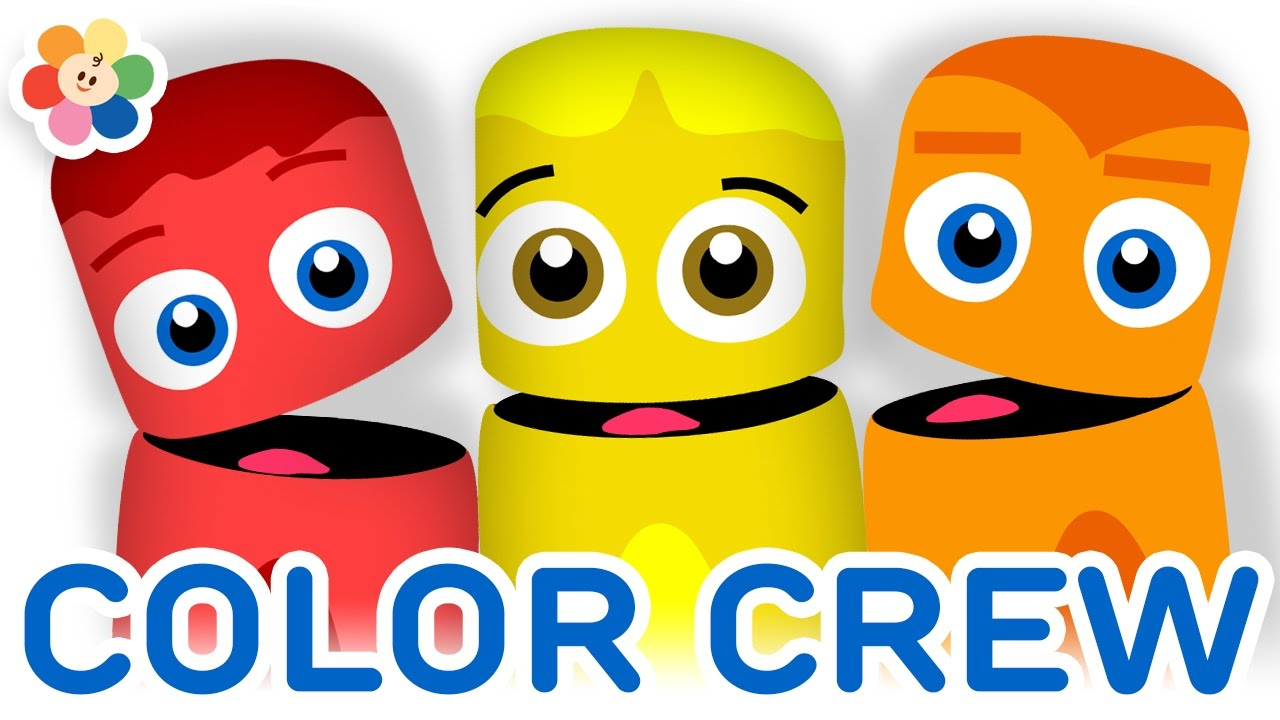 Color Collection 10: Red, Yellow, Orange | Color Learning Videos for ...