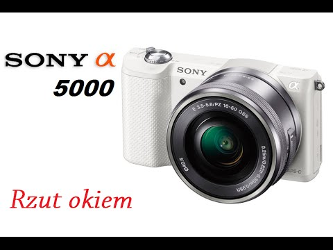 sony alpha 5000 rzut oka na ciekawy aparat youtube. Black Bedroom Furniture Sets. Home Design Ideas